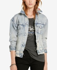 Denim And Supply Ralph Lauren Lorimer Boyfriend Jacket Denim Multi