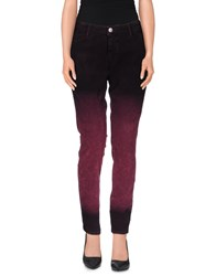 Each X Other Trousers Casual Trousers Women Deep Purple