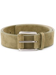 Barbara Bui Suede Belt Green