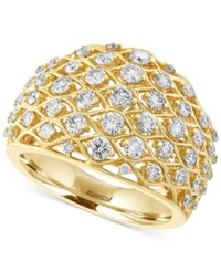 Effy Collection D'oro By Effy Diamond Openwork Ring 1 1 4 Ct. T.W. In 14K Gold