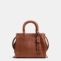 Coach Rogue Bag 25 In Glovetanned Pebble Leather Black Brown