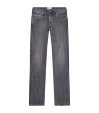 Officine Generale Washed Out Jeans Male Light Grey