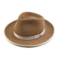 Qp Collections Camel Teardrop Top Hat