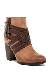 Sofft Arminda Strappy Bootie Brown