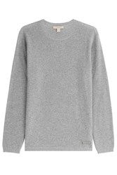 Burberry Brit Cashmere Cotton Pullover Grey