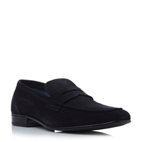 Roland Cartier Beech Saddle Casual Loafers Navy