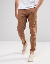 Produkt Chinos In Skinny Fit Tan