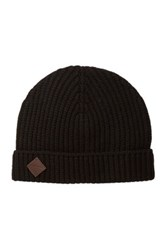 Cole Haan Wool And Cashmere Blend Beanie Black