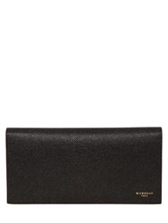 Givenchy Pebbled Leather Continental Wallet