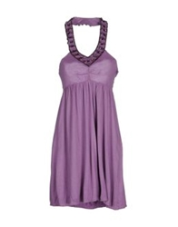 Gaudi' Short Dresses Mauve