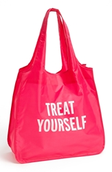 Kate Spade 'Treat Yourself' Reusable Shopping Tote Pink