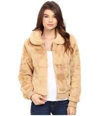 Volcom Furcasting Jacket Bear Brown Women's Coat