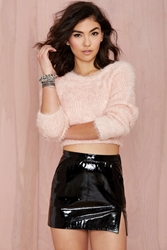 Nasty Gal Vintage Givenchy Vinyl Frontier Mini Skirt