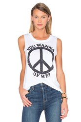 Chaser Peace Of Me Tank White
