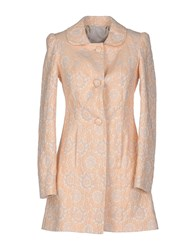 Atelier Fixdesign Coats And Jackets Coats Women Apricot