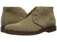 Aquatalia By Marvin K Carlos Taupe Oiled Waxy Suede Men's Lace Up Boots Olive