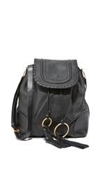 See By Chloe Polly Large Bucket Bag Black