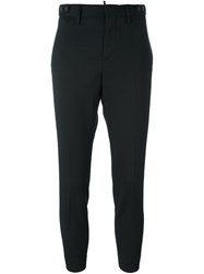 Dsquared2 Cropped Tailored Trousers Black