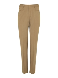 Chester Barrie Drill Trousers Olive