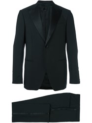 Caruso Formal Classic Suit Black