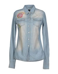 Authentic Original Vintage Style Denim Denim Shirts Women