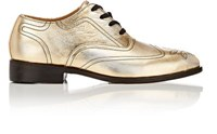 Esquivel Women's Wingtip Oxfords Gold