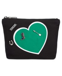 Sam Edelman Circus By Carley Customizable Cosmetic Case With Pins Heart
