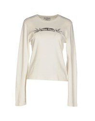 Polo Jeans Company Topwear T Shirts Women Ivory