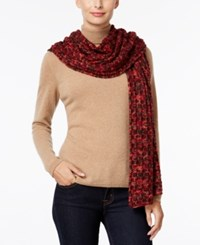 Inc International Concepts Spacedyed Scarf Only At Macy's Wine