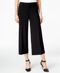 Styleandco. Style Co. Wide Leg Culottes Only At Macy's Deep Black