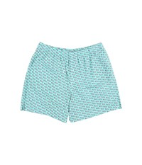 Vineyard Vines Motorboat Boxer Shorts Capri Blue Men's Underwear