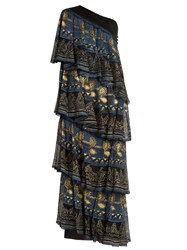 Zandra Rhodes Archive The 1969 Knitted Circle Dress Black