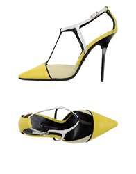 Diego Dolcini Sandals Yellow