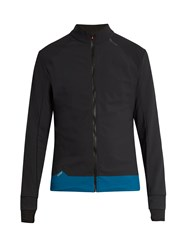 Soar Zip Through High Neck Performance Jacket Black Multi