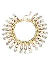 T And C Theodora And Callum Coin Bib Reversible Necklace Gold