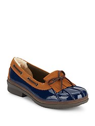 Ugg Haylie Patent Leather Loafers Navy