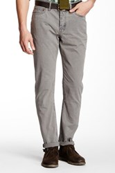 Jack Spade Daley 5 Pocket Canvas Pant Gray