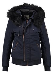 Khujo Blanc Winter Jacket Midnight Blue Dark Blue