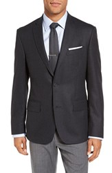 Nordstrom Men's Men's Shop Classic Fit Wool And Cashmere Blazer Charcoal