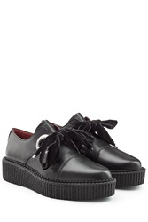 Marc By Marc Jacobs Leather Creepers Black