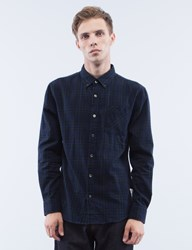 Denim By Vanquish And Fragment Checker Button Down L S Shirt