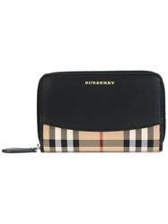 Burberry Checked Wallet Black