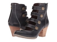 Spring Step Anchor Black Women's Dress Boots