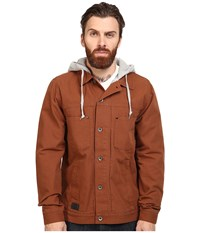 Vans Calpine Jacket Tortoise Grey Heather Men's Coat Brown