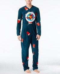American Rag Men's 1 Pc. Gaming Costume Only At Macy's Teal