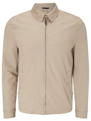 John Lewis Cotton Harrington Jacket Stone