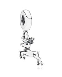 Pandora Design Pandora Dangle Charm Sterling Silver Reindeer Moments Collection