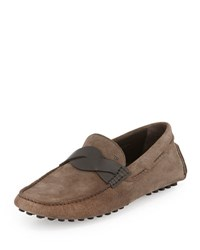 Tom Ford Samuel Twist Front Driver Taupe Gray