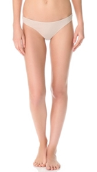 Skin Solid Thong Nude