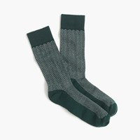 J.Crew Zigzag Performance Socks